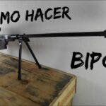 Como Hacer Un Tripode Para Apoyar El Rifle