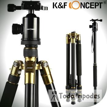Manual Tripode K&f Kf-tm2534